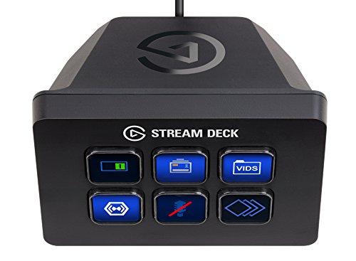 Elgato Stream Deck Mini - Live Content Creation Controller mit 6 anpassbaren LCD-Tasten für 76,99€