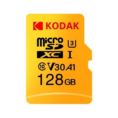 [TomTop] KODAK 128GB Micro TF SD Karte C10 V30