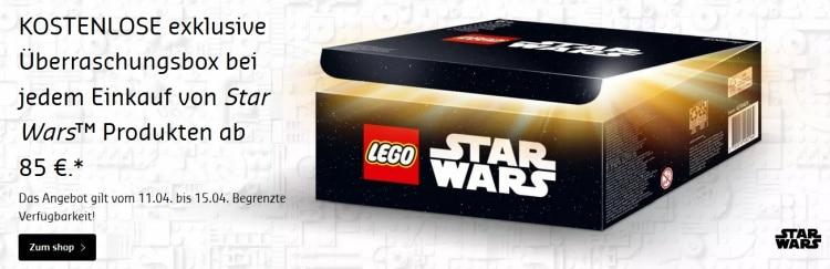 """""""Kostenlose"""" exclusive Lego Star Wars Überraschungsbox im Legoshop"""