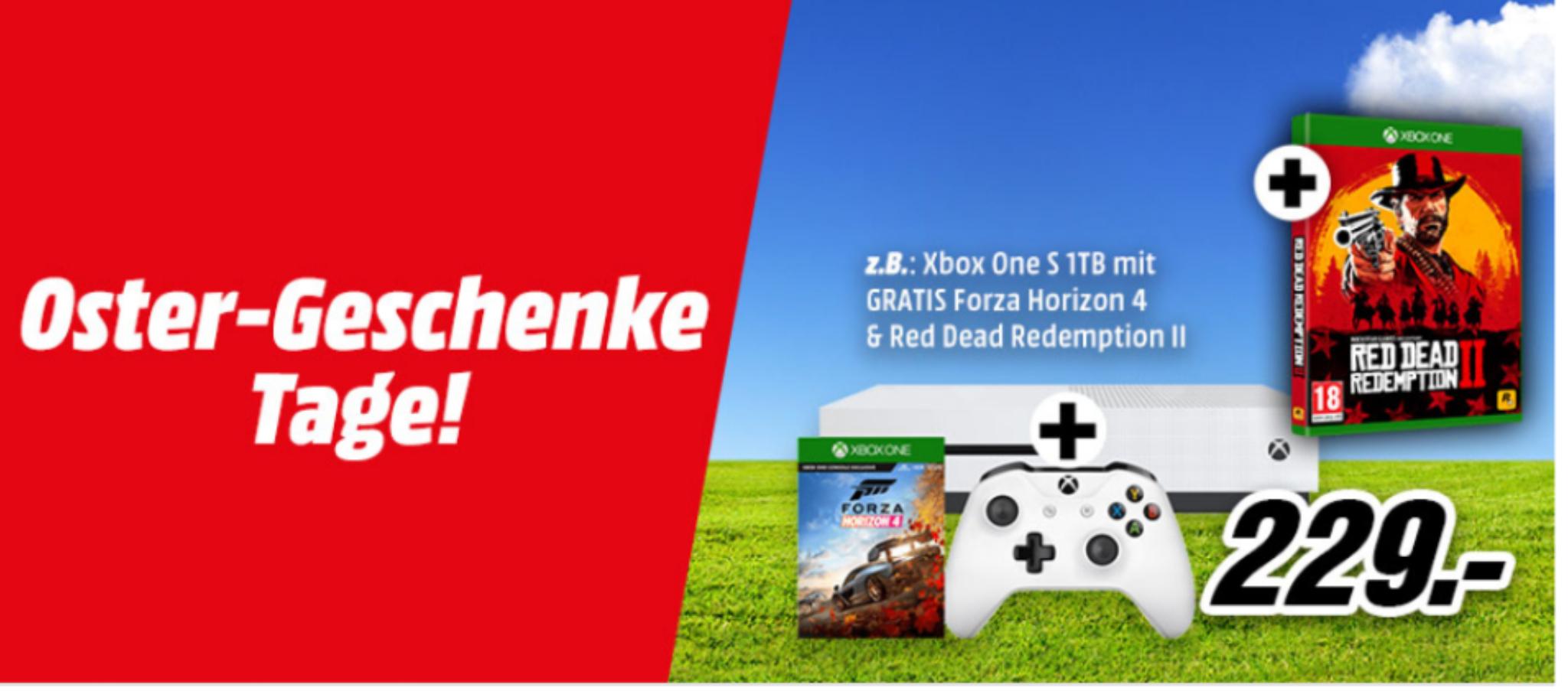 Xbox One Konsolen Aktion bei MediaMarkt