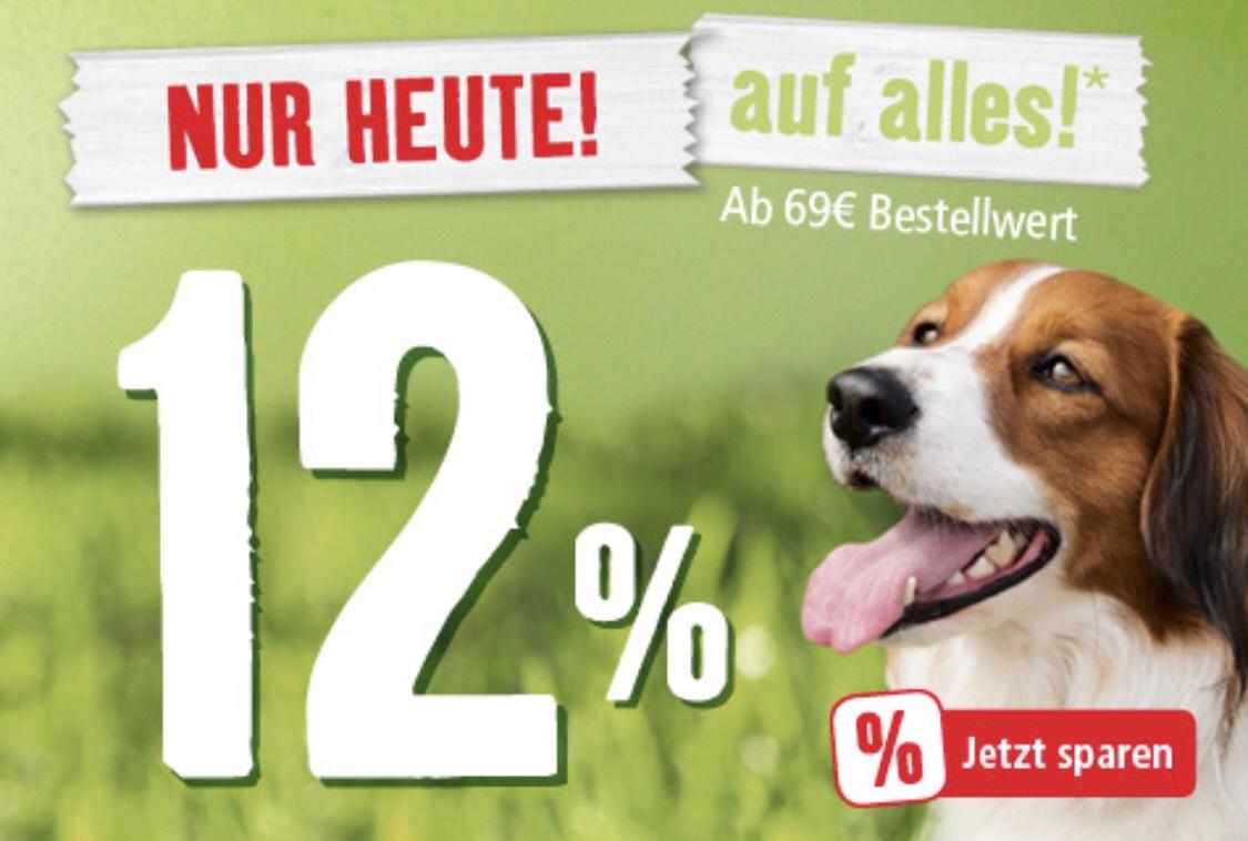 -12% auf Einkauf ab 69€
