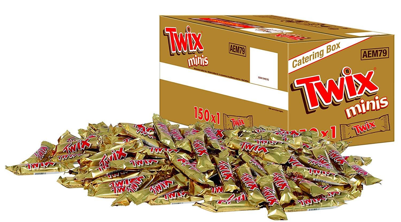 [Genussvoller Preisjäger] Twix / Mars / Milky Way / Snickers Minis mit 2,3kg - 3kg