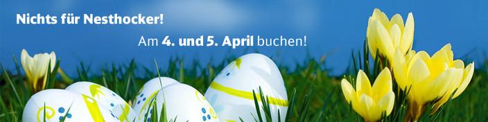 Deutsche Bahn Oster-Spezial: Für 22€ durch ganz Deutschland