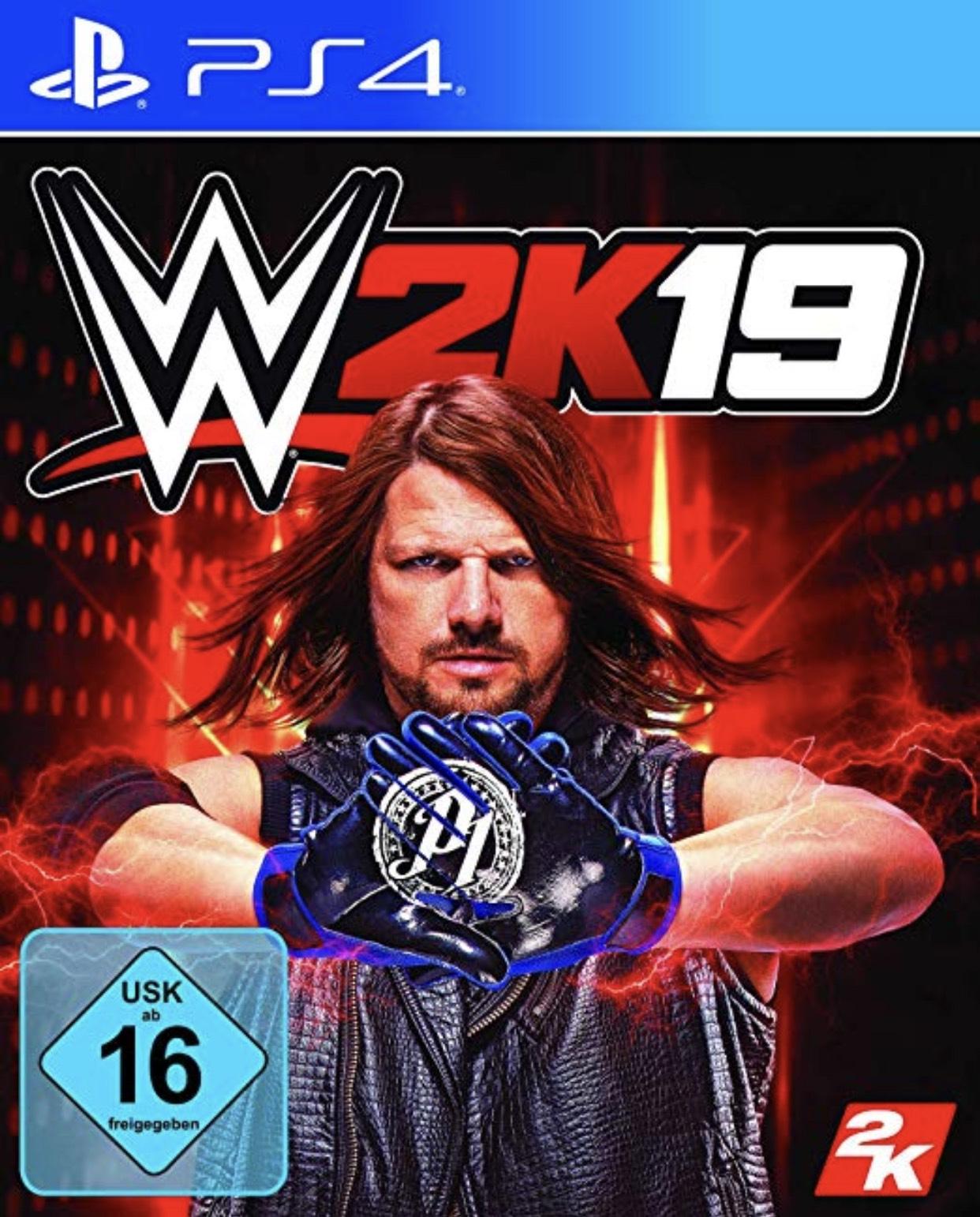 Wwe 2k19 für PS4 oder XBox One um 12,23€