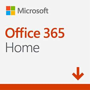 Office 365 Home mit 1TB OneDrive Cloudspeicher, Word, Excel, Powerpoint, OneNote, Outlook, Publisher und Access