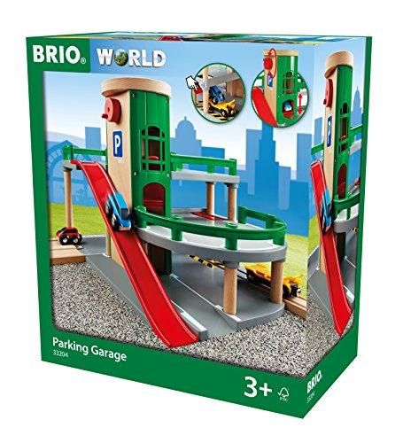 [Amazon] BRIO World 33204 Parkgarage mit Aufzug, steiler Ausfahrt und Tankstelle