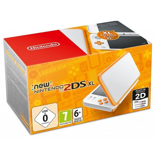www.LIBRO.at l New Nintendo 2DS XL (Konsole), weiß/orange Offline für € 99,99