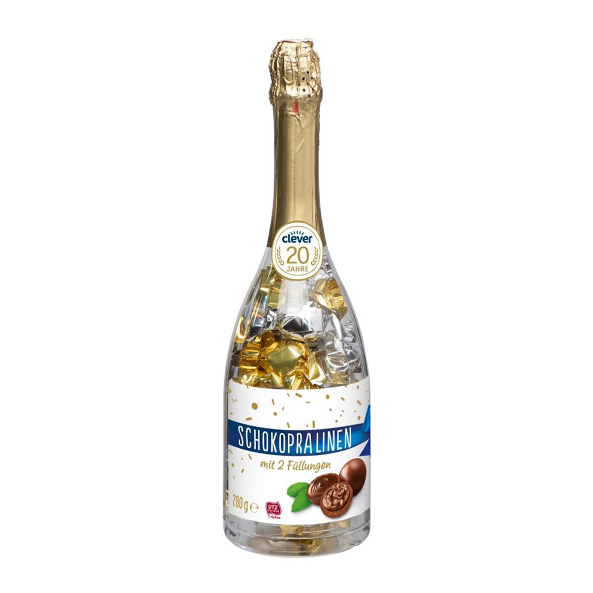 [Bipa]  Clever Schokopralinen in der Flasche 1+1 gratis