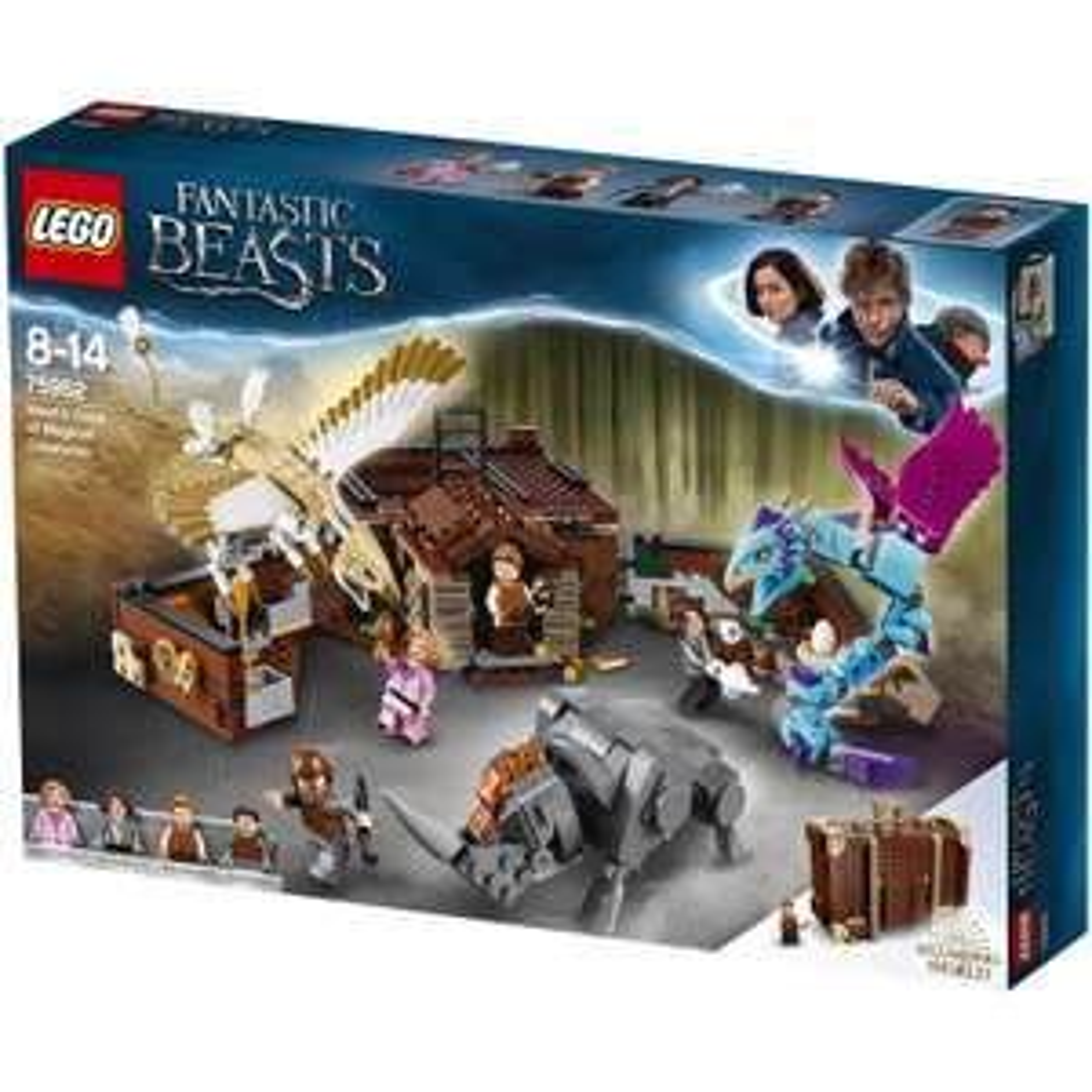 LEGO Fantastic Beasts - Newts Koffer der magischen Kreaturen (75952)