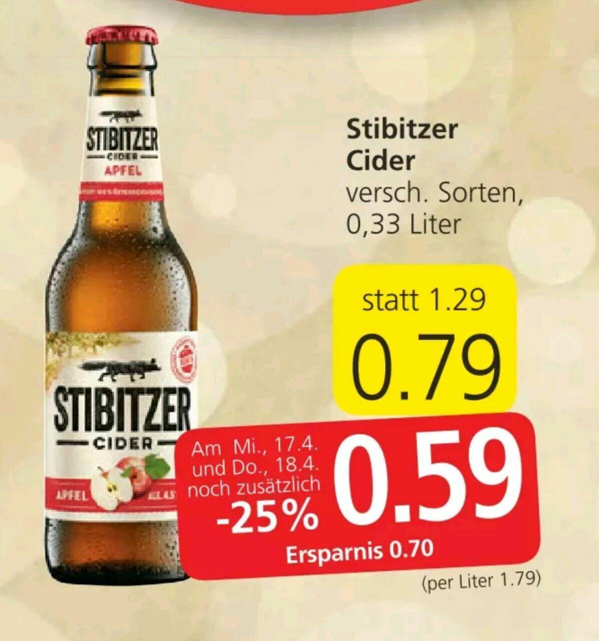 [Spar] Stibitzer Cider 0,33L