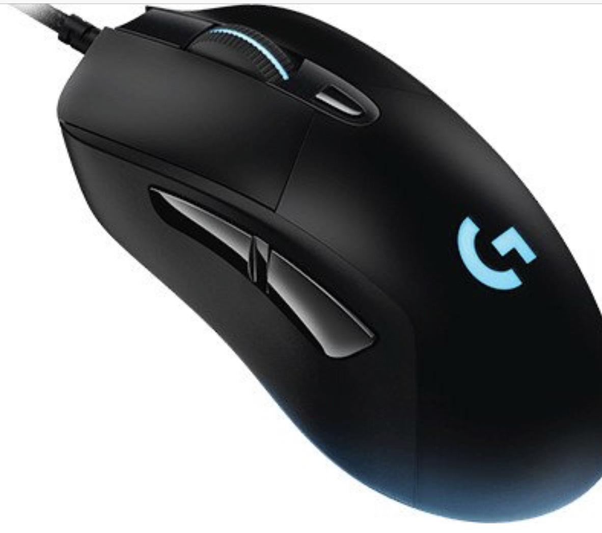 Logitech G403 Prodigy Kabelgebundene Gaming-Maus für 37,30€