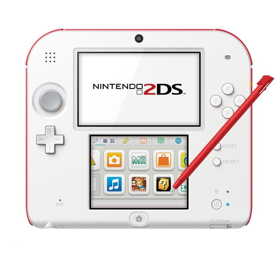 [Gamestop] Nintendo 2DS - weiss/rot für 49,99 Euro