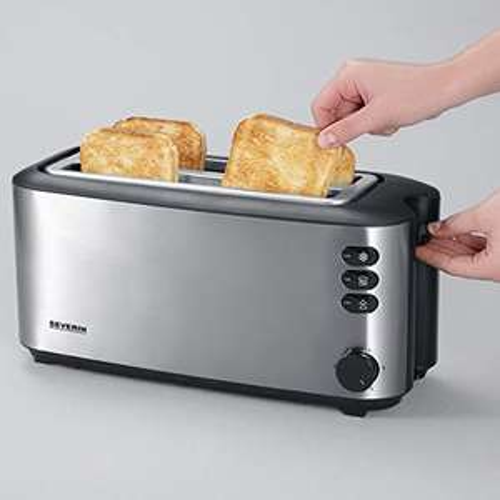 [Amazon] Severin AT 2509 Langschlitz-Toaster für bis zu 4 Brotscheiben mit 1.400 W
