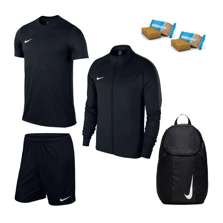 Nike Trainingsset Academy 18 4-teilig verschiedene Farben + 2 GRATIS Energy Cakes für 49,95€