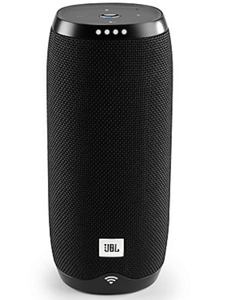 JBL Link 20 schwarz Google Sprachsteuerung, WLAN/Bluetooth Lautsprecher für 99€ bei abholung bzw. 105.95 inkl. Versand