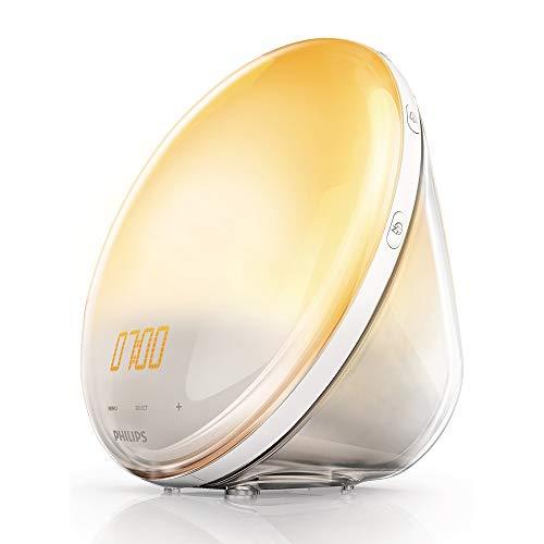 Philips HF3520/01 Wake-Up Light (Sonnenaufgangfunktion, digitales FM Radio, Tageslichtwecker) für 69,99€