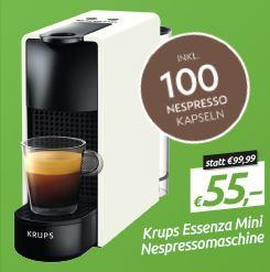 Nespresso Maschinen zum Bestpreis bei 0815