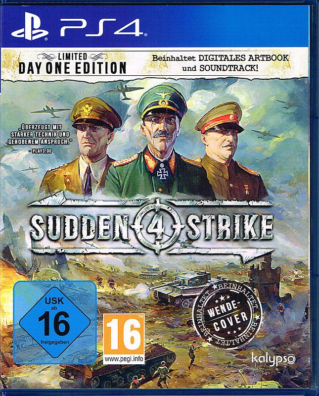 [Gameware] Sudden Strike 4 Limited Day 1 Edition (PS4) (Amazon.it für 13,69 €)