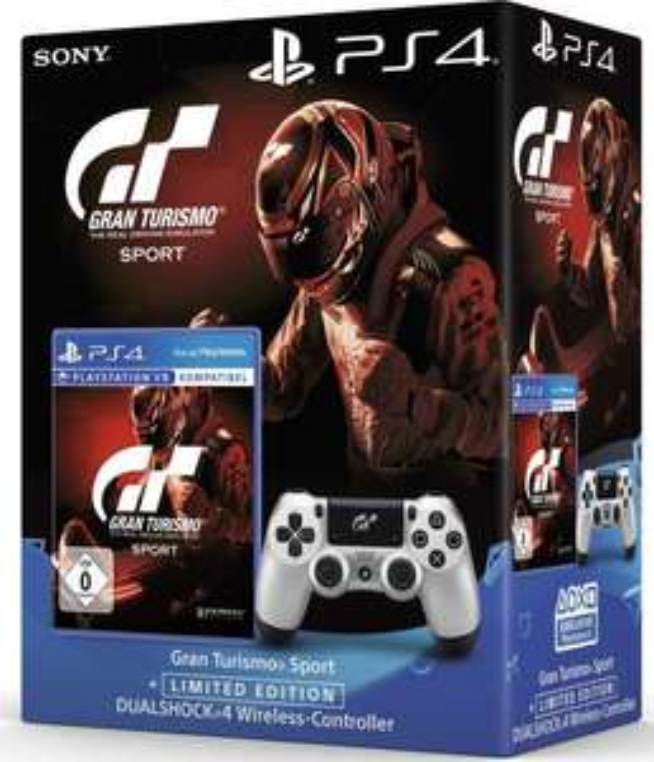 Gran Turismo Sport inkl. Dualshock 4 Wireless Controller