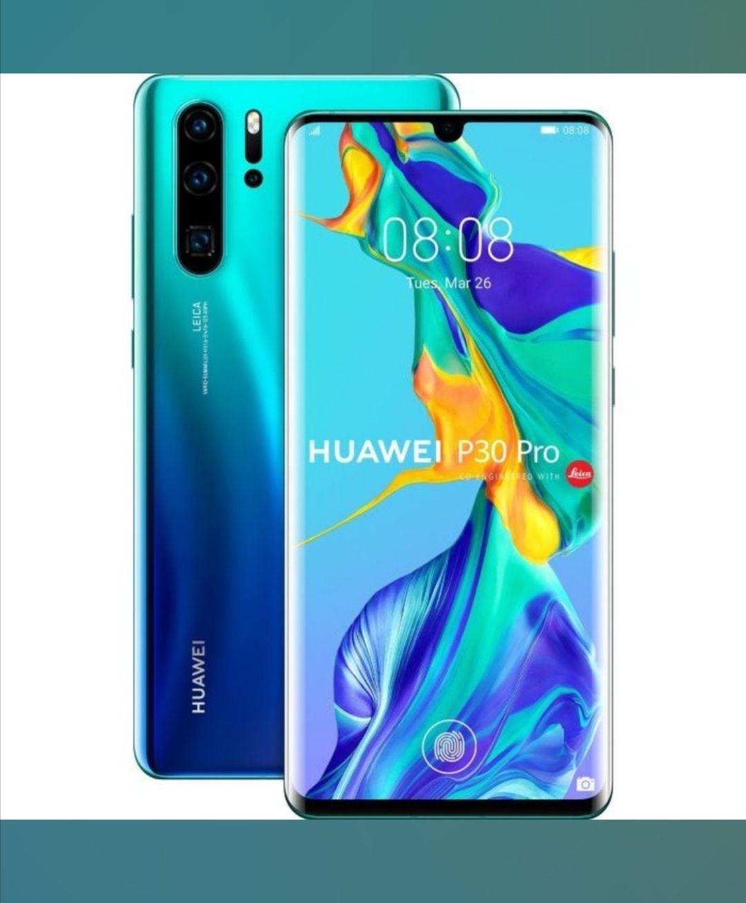Huawei P30 Pro Aurora DUAL Sim 128GB Versandkostenfrei
