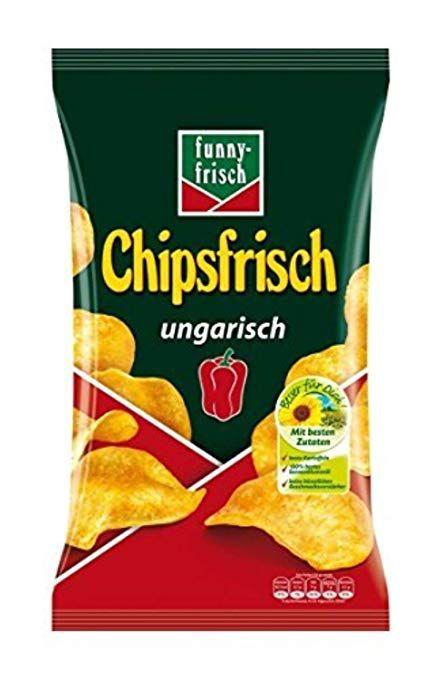 [Amazon] funny-frisch Chipsfrisch ungarisch 10 x 175 g