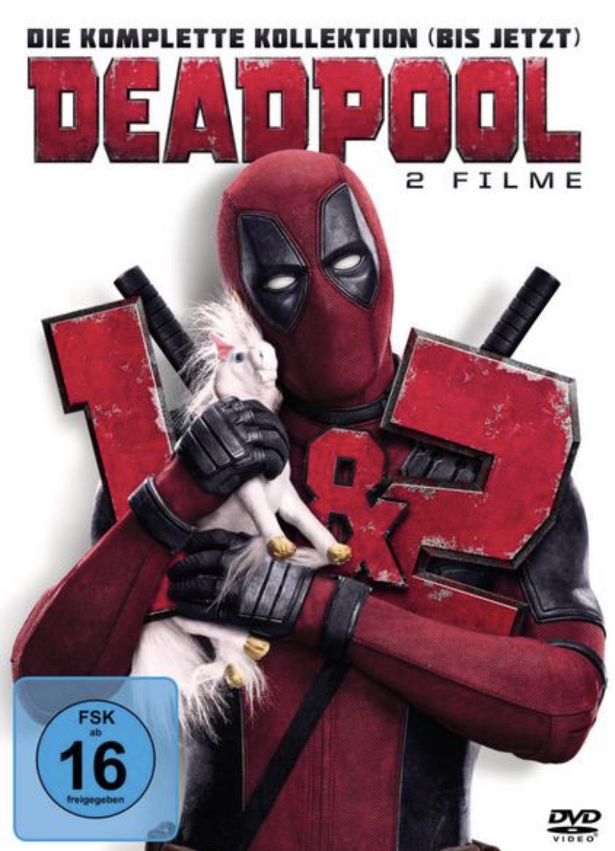 Deadpool 1&2 für 9,99€ in 4K,HDR und Dolby Atmos