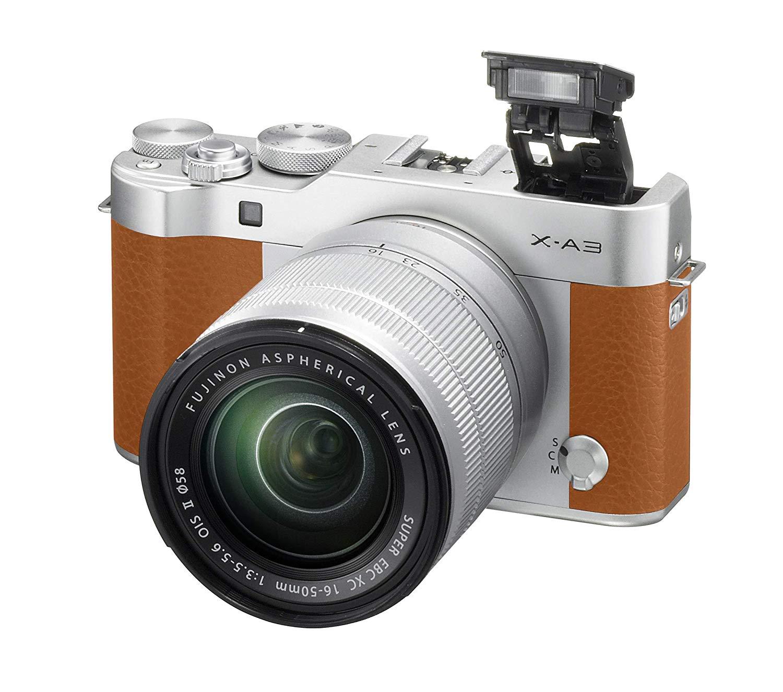 """Fujifilm """"X-A3"""" Systemkamera inkl Fujinon """"XC 16-50mm, F3,5-5,6"""" Objektiv"""