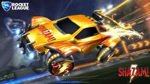 [Rocket League] Shazam Octane Decal and Shazam Wheels kostenlos
