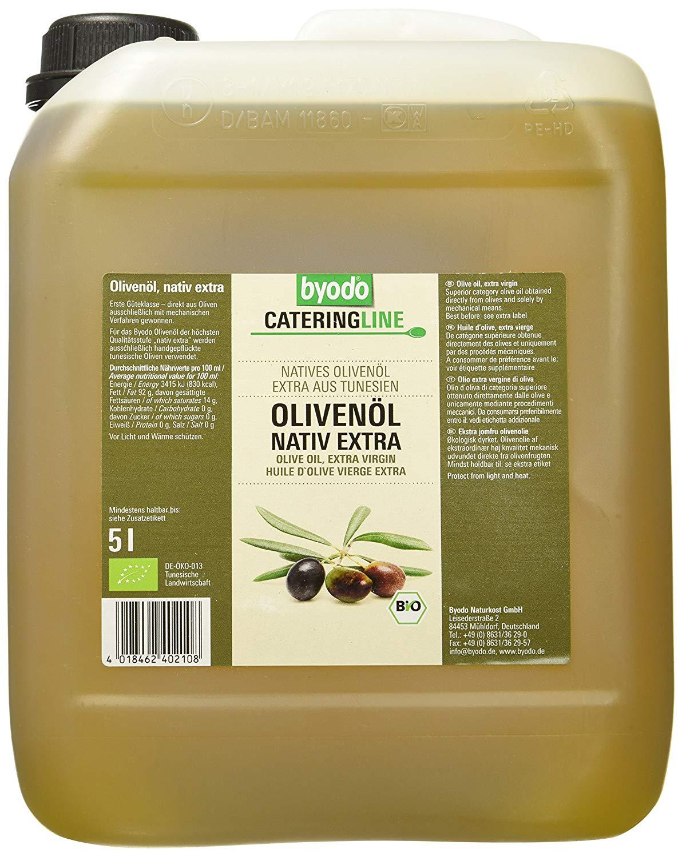 Byodo Bio Olivenöl nativ extra, 5 l um 15,44€