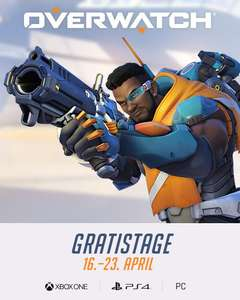 [PC/PS4/XB1] Overwatch Gratis Tage 16-23.04.2019
