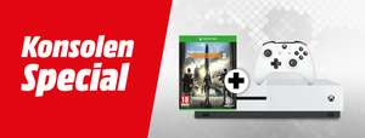 [Mediamarkt]Jede lagernde Xbox One S 1TB Konsole 167,- Euro.Zb..MICROSOFT Xbox One S 1TB Forza Horizon 4 Bundle + Madden NFL +RDR2