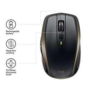 Amazon.fr: Logitech MX Anywhere 2 AMZ Kabellose Bluetooth Maus (für Windows und Mac) schwarz für 35,51€