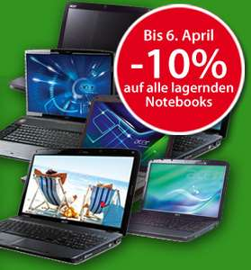 -10% Osterbonus auf alle Notebooks @www.Interpar.at