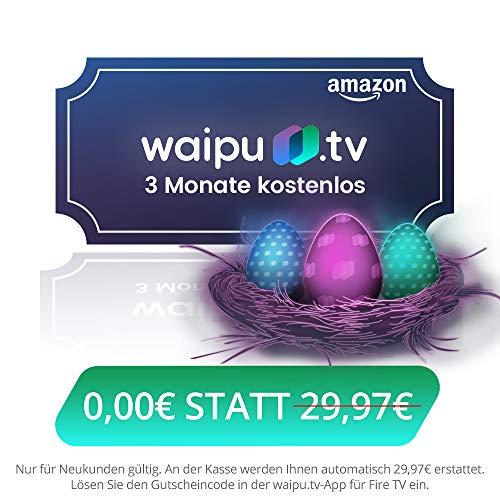 waipu.tv 3 Monate kostenlos - auch in Österreich
