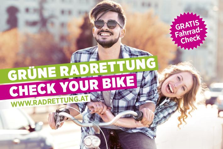 Kostenloser Fahrrad-Check & kleines Service