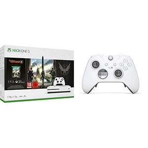 [Amazon.fr] MS Xbox One S (1TB) Tom Clancy's The Division 2 Bundle + Elite Wireless Controller + Gears of War 4 für 257,81 Euro