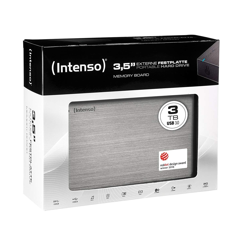 Intenso Memory Board 3 TB Externe Festplatte
