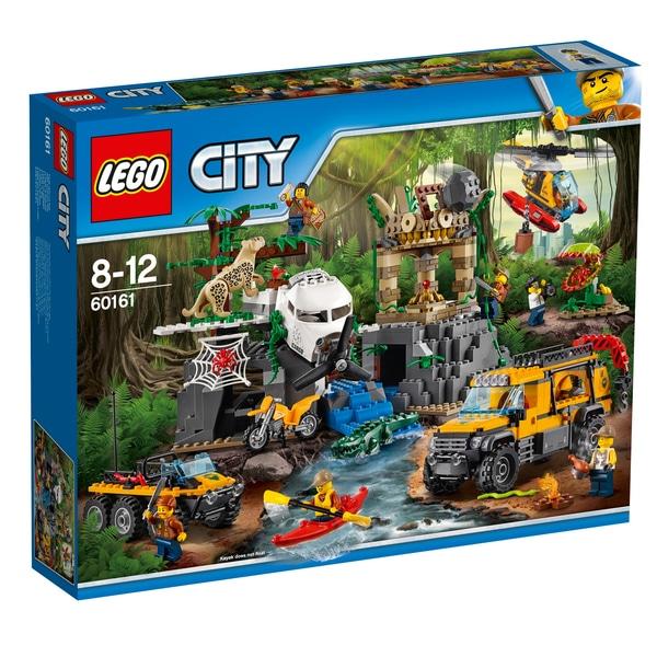 LEGO City Dschungelforscher - Dschungel-Forschungsstation (60161)