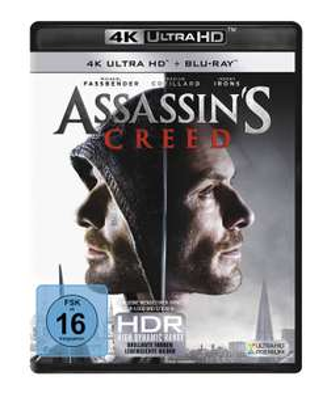 Amazon.it: Assassin's Creed (4K Ultra HD Blu-Ray) für 13,68€
