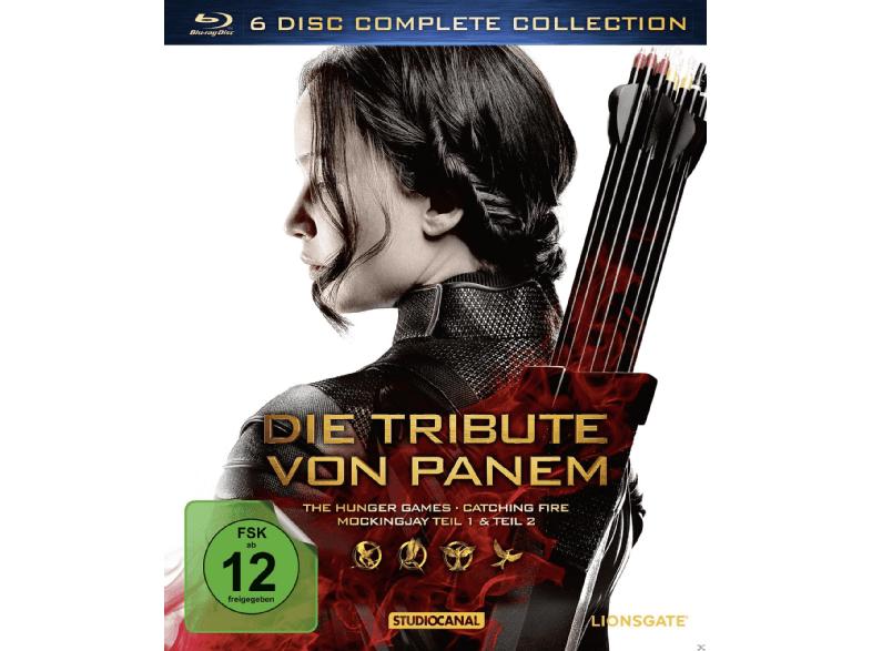 Die Tribute von Panem - Complete Collection [Bluray]