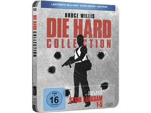 Die Hard Collection - Limited Steelbook Edition [Bluray]