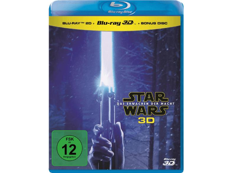 Star Wars - Das Erwachen der Macht (+ 2D-Blu-ray + Bonus-Blu-ray) [Blu-ray 3D]