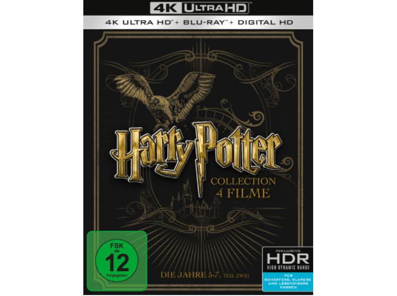 Harry Potter: Die Jahre 5-7.2 [4K Ultra HD Blu-ray + Blu-ray]