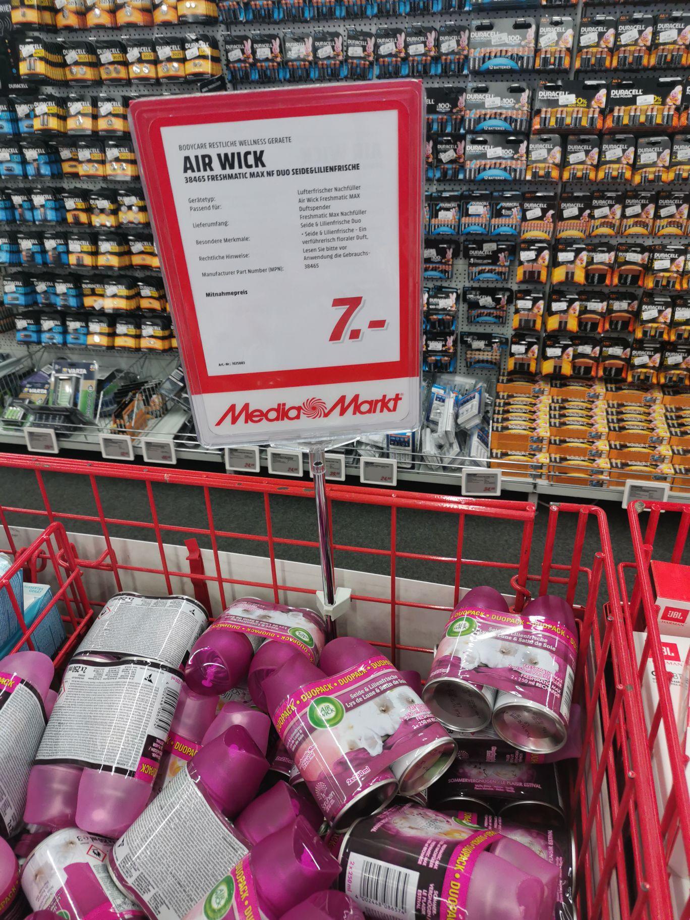 Mediamarkt - Airwick Duopack Freshmatic 2x250ml