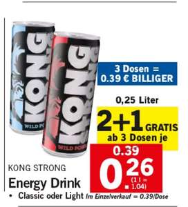 [LIDL] Kong Strong 2 Plus 1 Gratis