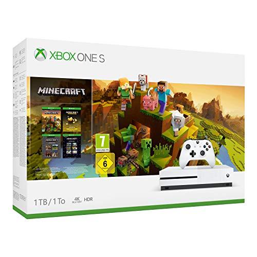 Microsoft Xbox One S (1TB) Minecraft Creators Bundle