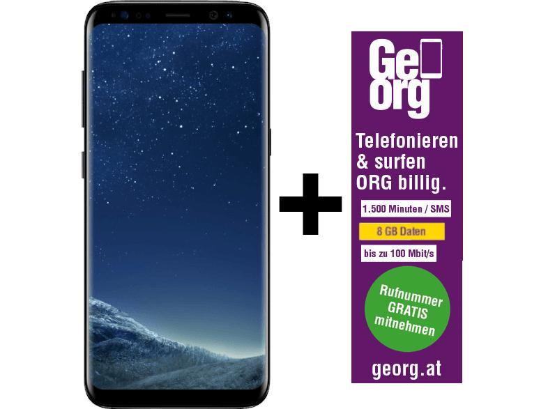 SAMSUNG Galaxy S8 Midnight Black inkl. GeOrg für 2 Jahre telefonieren und surfen