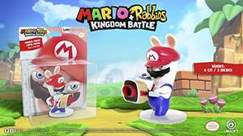 Amazon.de: Mario & Rabbids Kingdom Battle - Figur Rabbid Mario (8 cm)