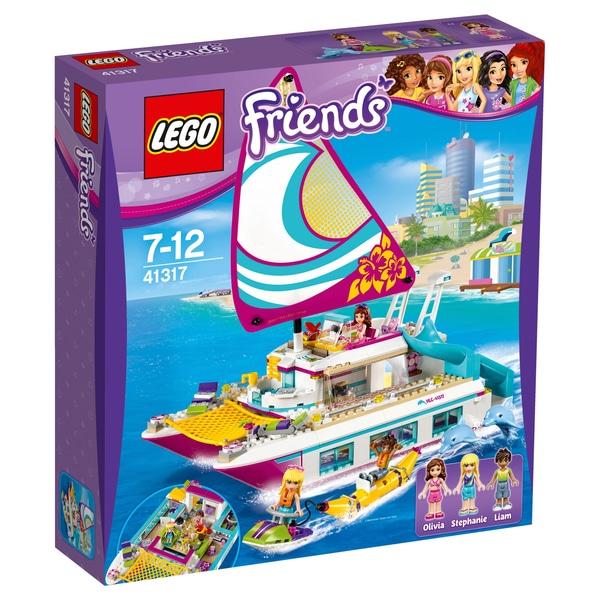 [Smyths] LEGO Friends - Sonnenschein-Katamaran (41317)