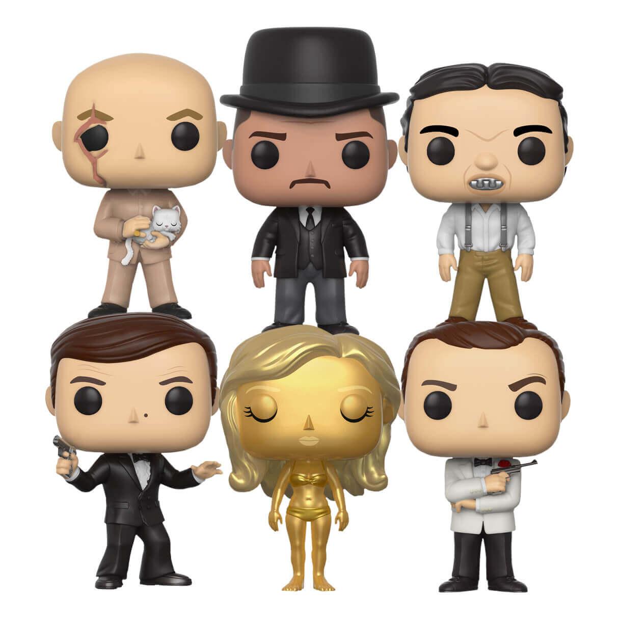 [Zavvi.de] Pop! James Bond Complete Set mit 6 Figuren portofrei mit Code